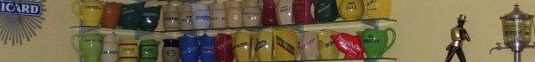 pichet pub anis , collection de pichets , pyrogenes absinthe et objet de bistro