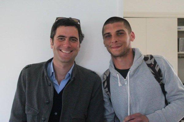 Andynight et Thibaut Rysman présentateur a fr3