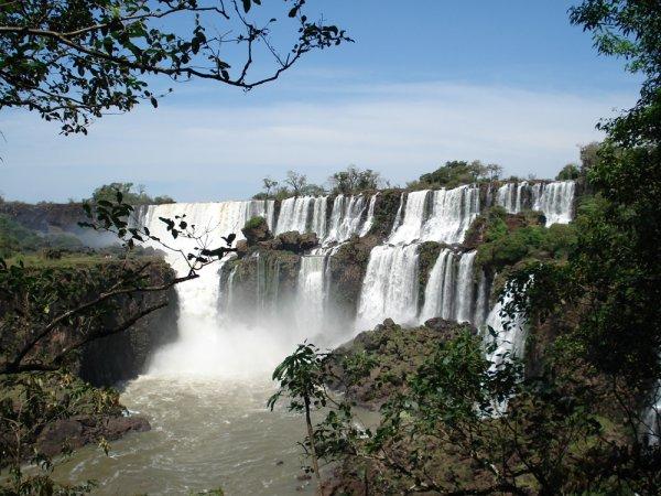 de la gran cascada de Argentina;)