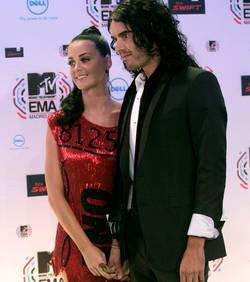 Russell Brand et Katy Perry : Aperçus sans leurs alliances