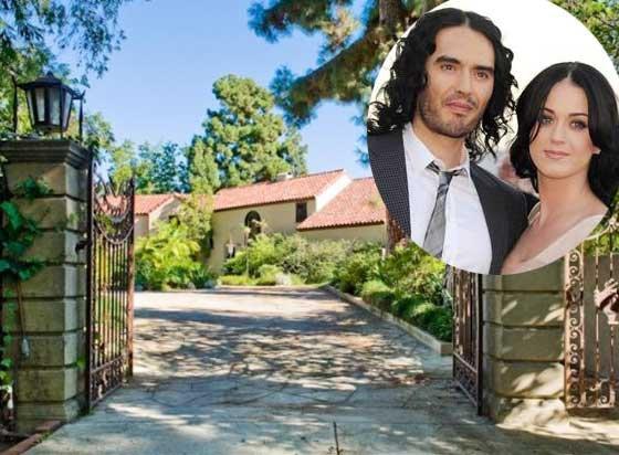 Katy Perry : Russell Brand lui laisse son argent et la maison