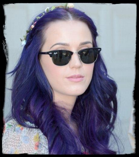 Katy Perry : Elle a désormais les cheveux violets
