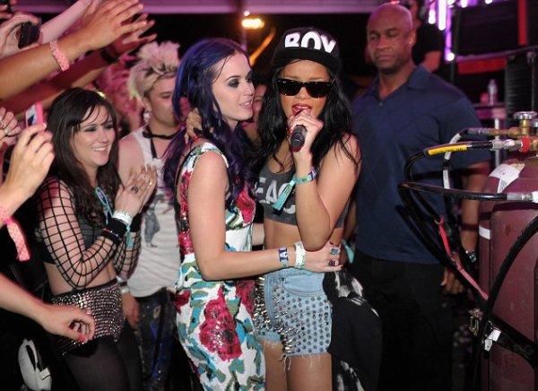 Katy Perry: Elle veut coucher avec Rihanna!