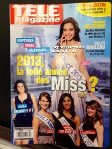 """16/02/13: Elle apparait aussi dans le """"Télé Magazine"""" !"""