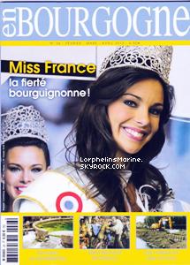 """16/02/13: Et enfin, elle apparaît dans le magazine issue de sa Bourgogne natale """"En Bourgogne"""" !"""