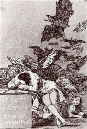 Le sommeil de la raison engendre des monstres