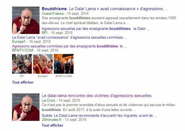 Le meilleur de mes maîtres n'était pas Bouddhiste...Et moi......?