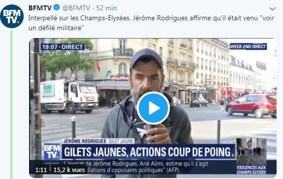 Monsieur Loyal présente : Jérôme, fasciné par les soldats et les chars