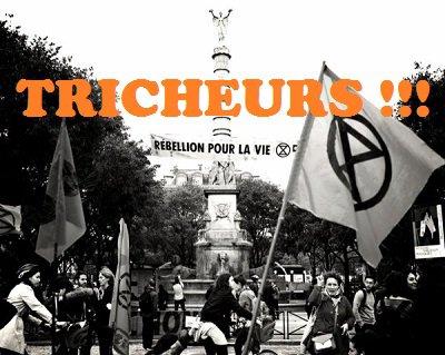 Monsieur Loyal démonte : Gail de extinction rebellion (XR)....qui triche
