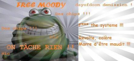 Monsieur Loyal présente : La minute (négocié) de Moody