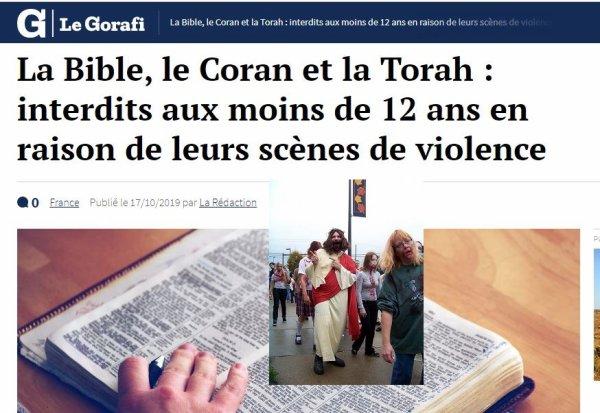 Monsieur Loyal présente : Le bon sens du Gorafi.