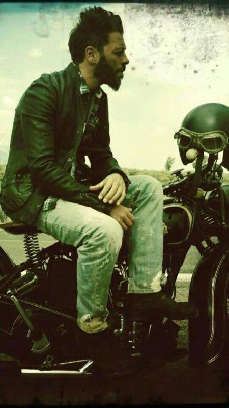 Le motard !♥