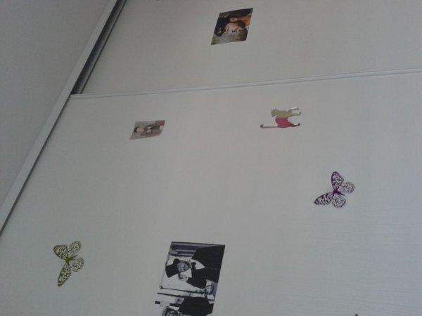 Petits changements de ma chambre.