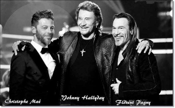 Trois chanteurs aux grandes voix.