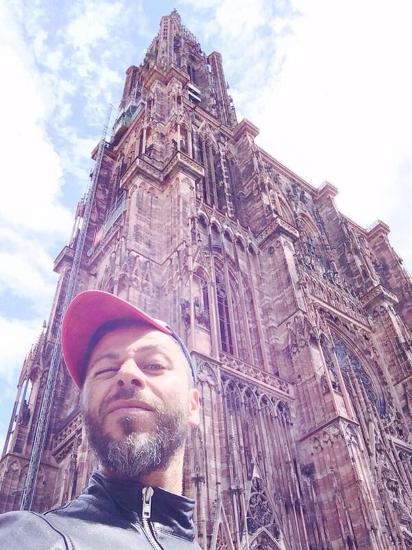 Petite visite de Strasbourg avant le concert.