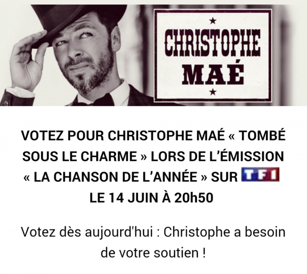 Voter Christophe !!!