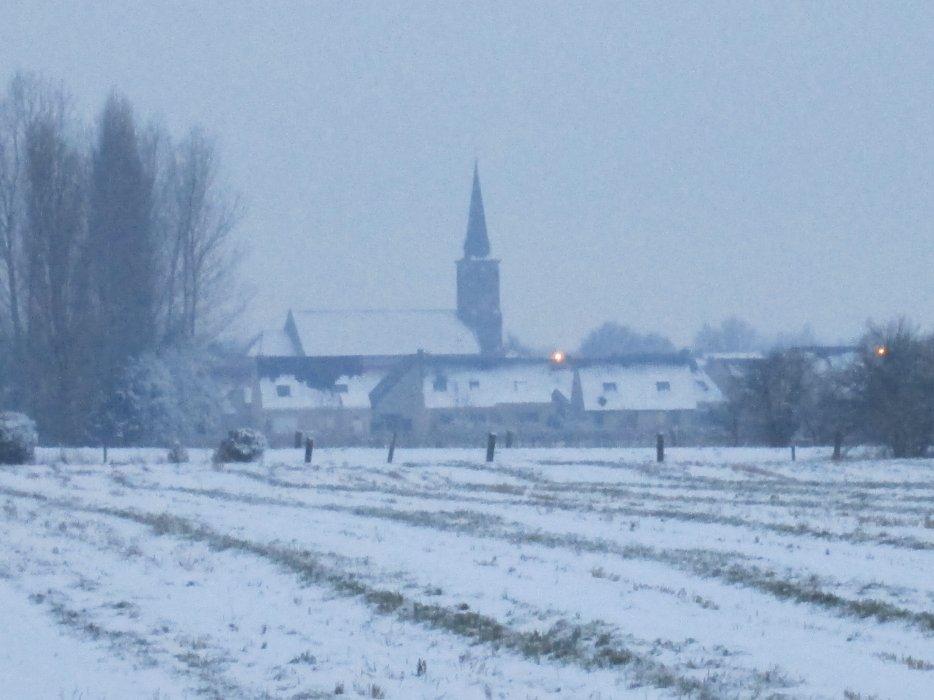 ma ville sous la neige