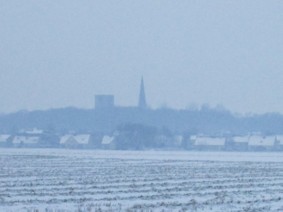 ma ville sous la neige en janvier 2013