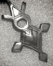 Bijoux africains Croix du Niger