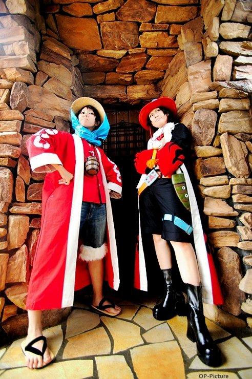 Luffy et Ace