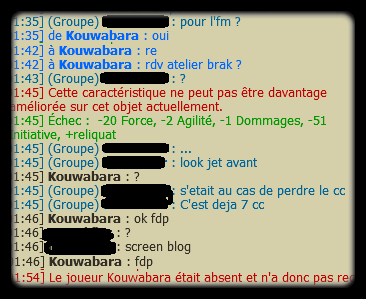 Avancement IG / So-benz / Commande bannières / Fun / Noob