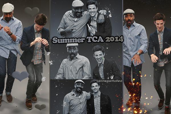 Shoot : Comic con 2014 / Summer TCA 2014 / Comic con 2015 / After Elton Magazine & 2 Shoot Inconnu de Grant Gustin on Sublimegrantholland.sky