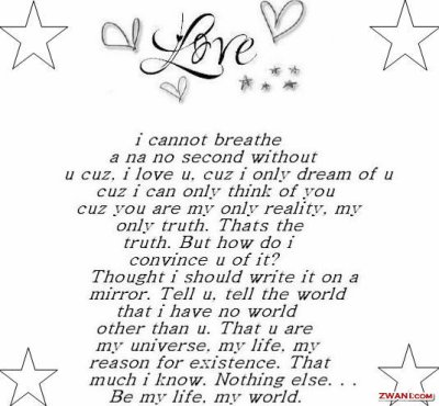i love you all my life