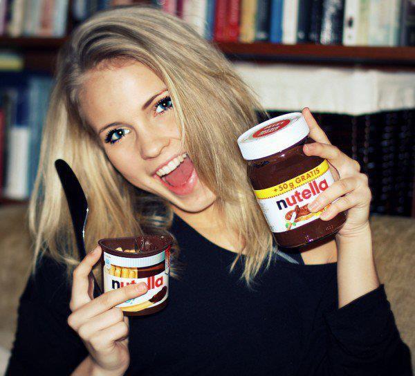 Le Nutella, moi j'adore ça !