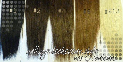 nos couleurs #1 #2 #4 #6 #613