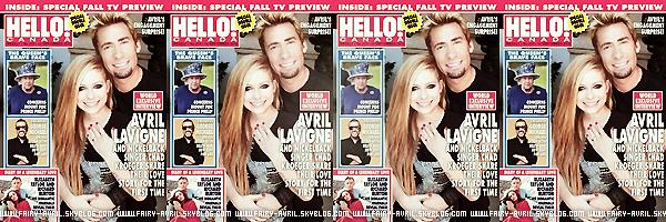 Fiançailles  C'est officiel, Avril Lavigne et Chad Kroeger, le chanteur de Nickleback, sont désormais fiancer. + photos