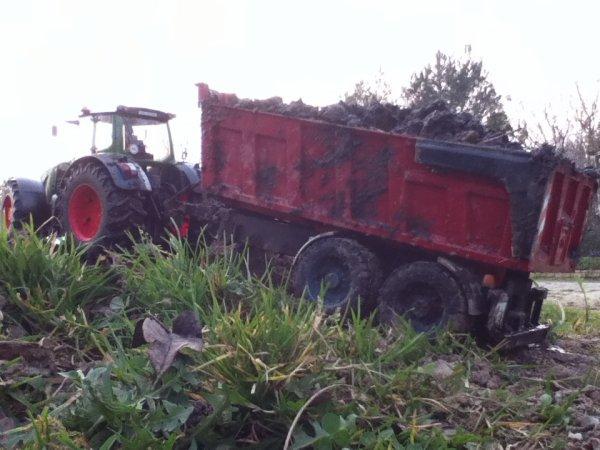 transport de fumier 2012 pour le maïs