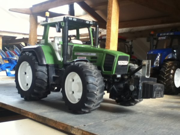 modification du fendt 824 de thierrix en 916 et fabrication d'une masse