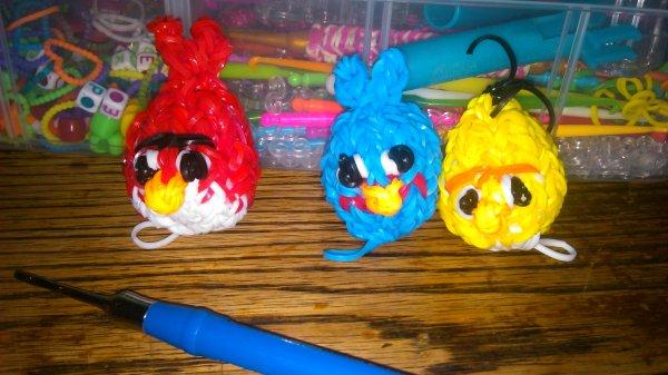 mes angry birds de ce soir  :)