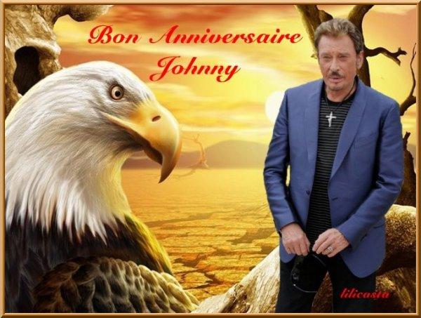BON ANNIVERSAIRE JOHNNY !