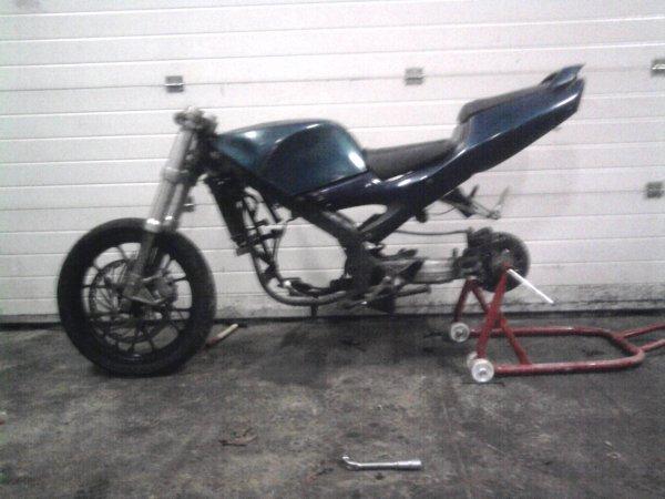 moto monté ^^