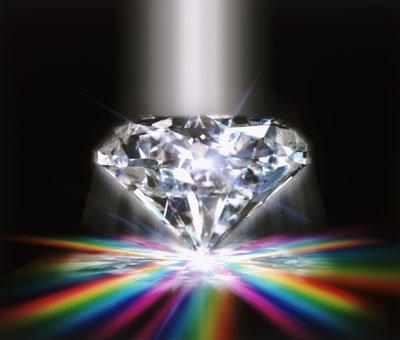 Tu brilles comme un diamant.