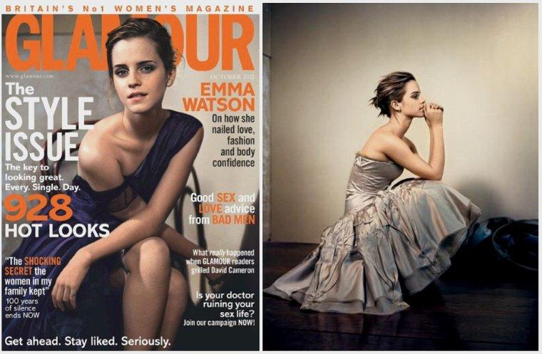 ϟ#297 Emma Watson for GLAMOUR Magazine.