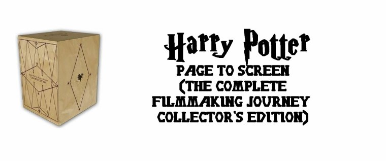 ϟ#301 Page to Screen (The Complete Filmmaking Journey Collector's Edition)