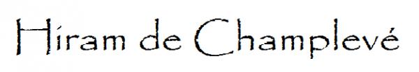 Hiram de Champlevé