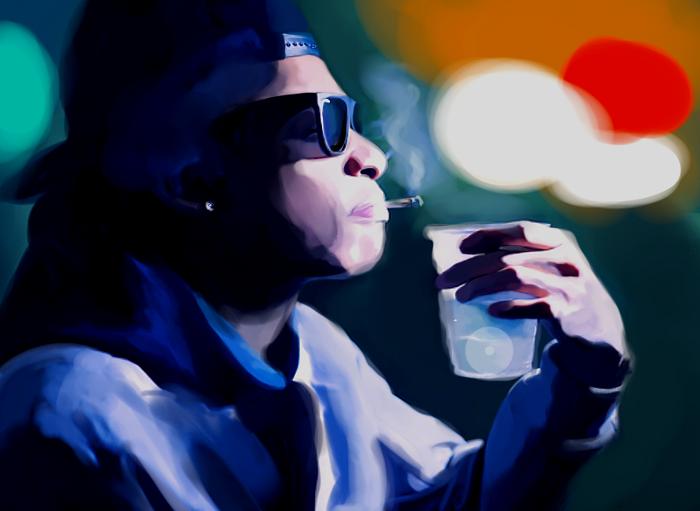 # [PORTRAIT DU MOIS] : Wiz Khalifa