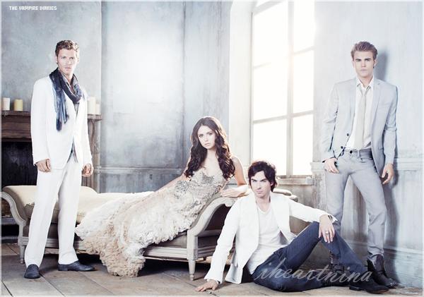 Deux nouvelles affiches promotionnelles pour la troisième saison de THE VAMPIRE DIARIES