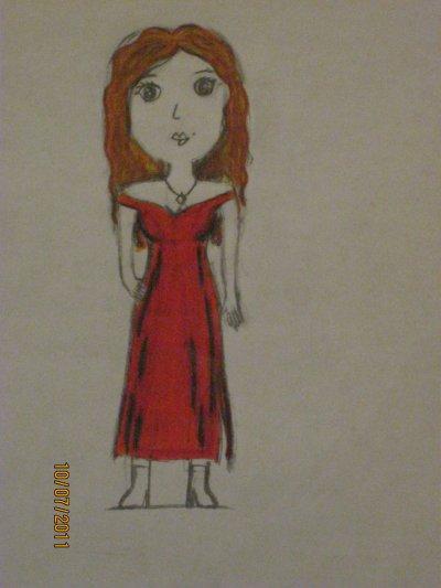 dessin fait pendant les cours à l'école