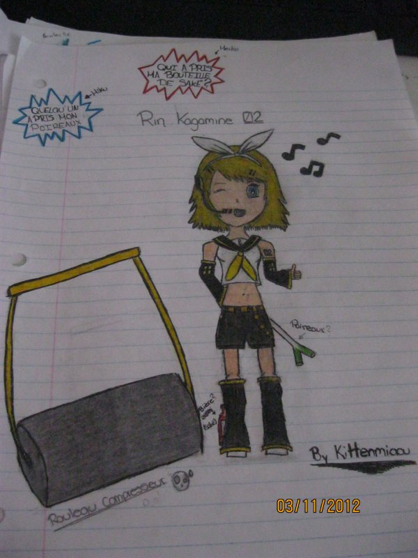 Vocaloid Dessin ;)