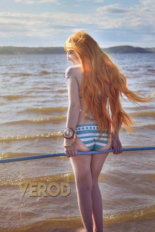Nami bikini photo