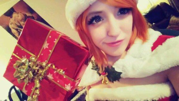 Christmas cosplay