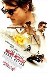 12 août 2015 : Mission Impossible 5 : Rogue Nation