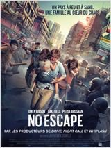 02 septembre 2015 : No escape