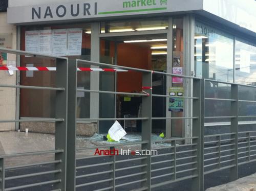 Sarcelles-Flanades après l'attentat.