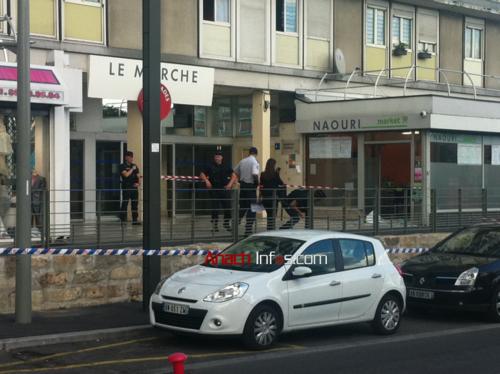 Sarcelles-Flanades après l'attentat 3.