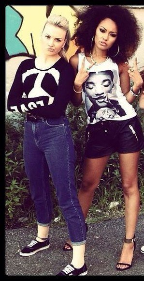 leigh-anne et perrie edwards